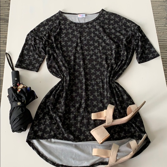 LuLaRoe Dresses & Skirts - Black LuLaRoe Dress